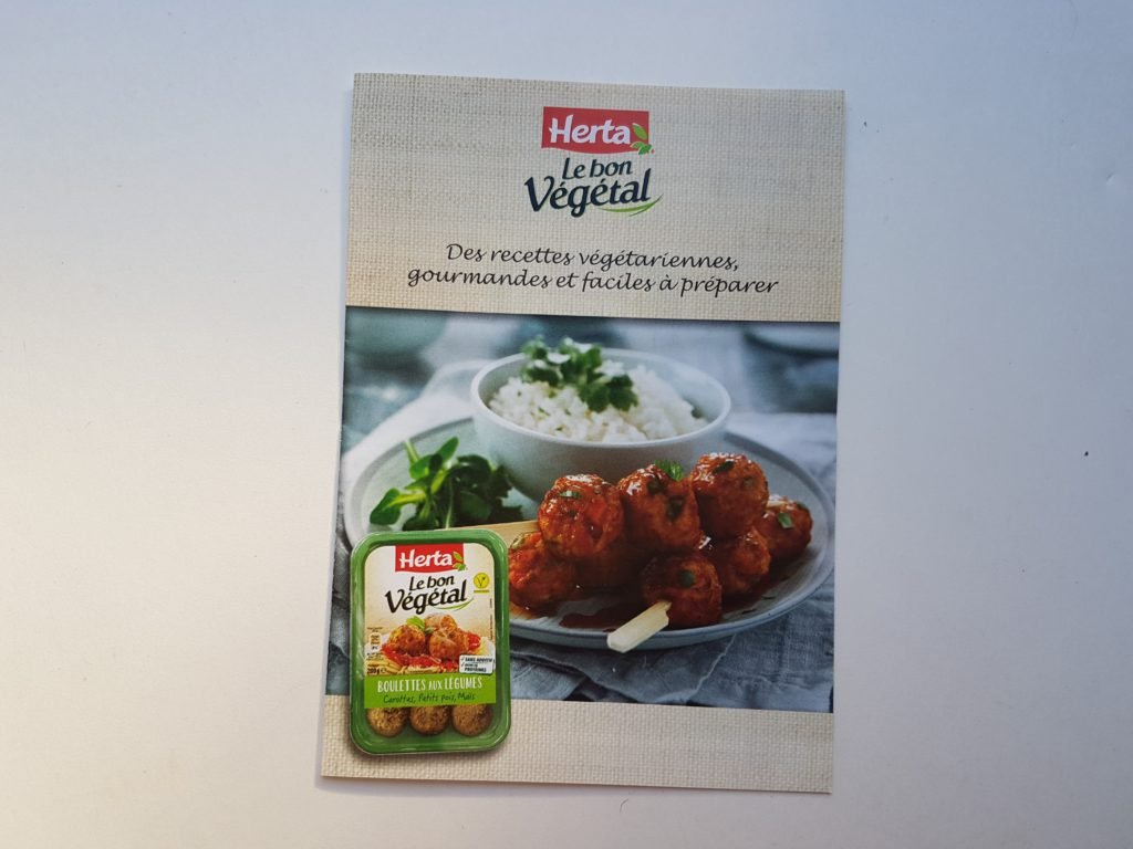 Herta Le Bon Végétal Escalope Soja Blé