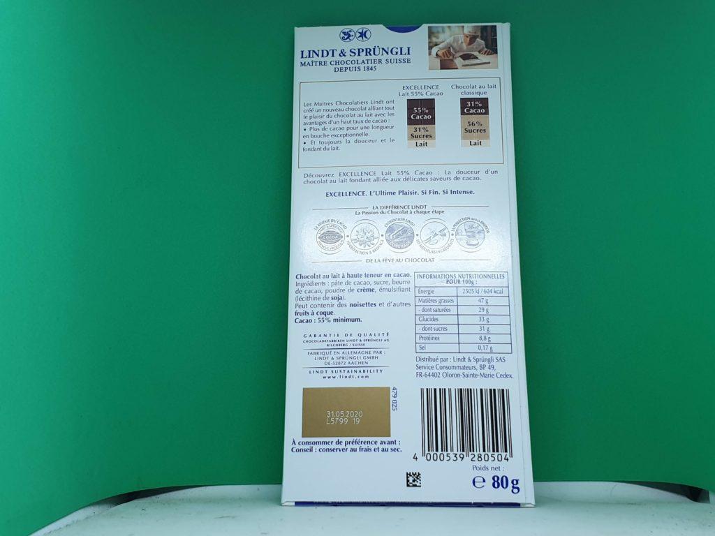 Lindt-Excellence-Chocolat-au-lait - Lindt-16