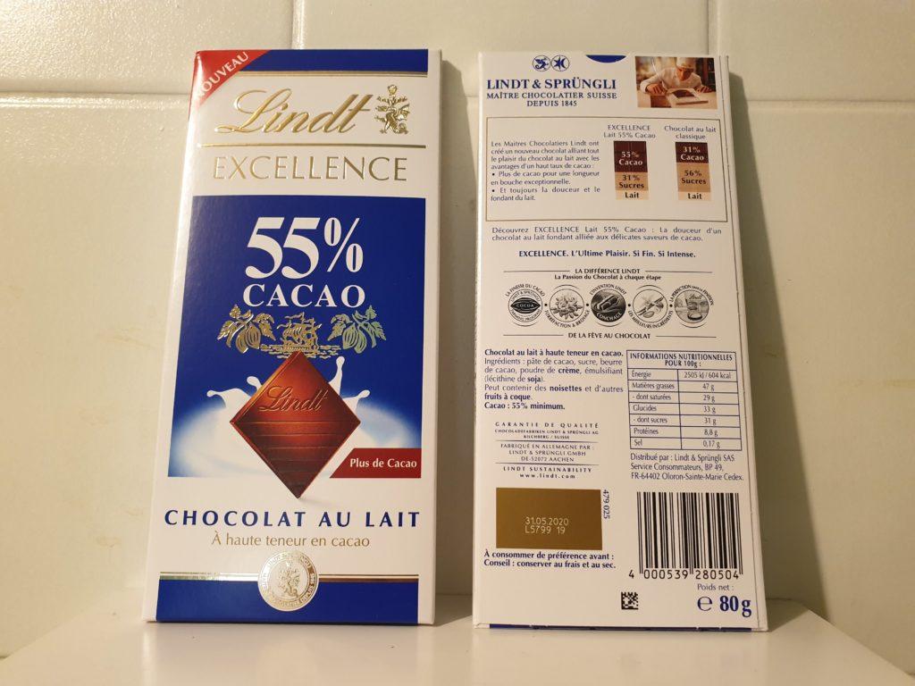 Lindt-Excellence-Chocolat-au-lait - Lindt-9