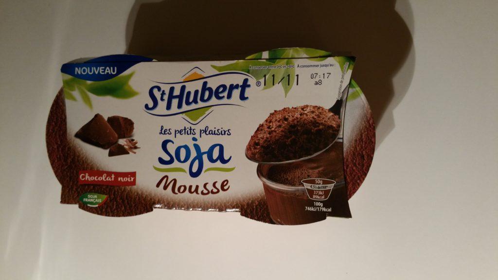 St Hubert Les Petits Plaisirs Soja® Mousse chocolat noir-4