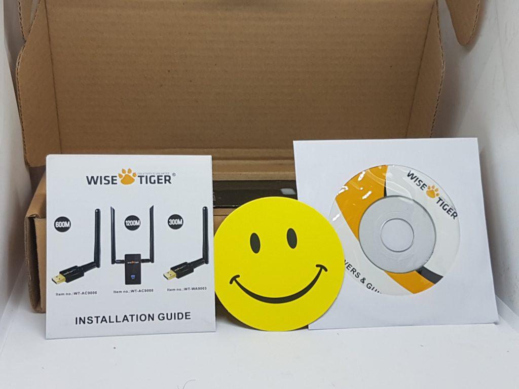 WISETIGER-Clé-WIFI-USB-8